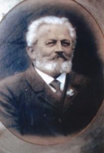 Der erste Vereinsvorsitzende Haase